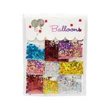 Блестки для шаров (5 цветов) 30651