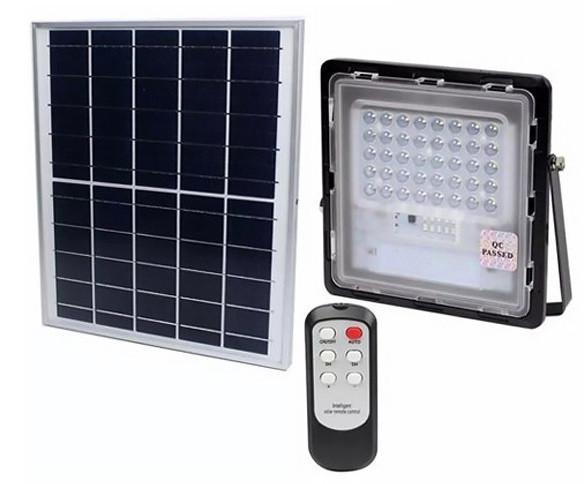 Прожектор на солнечной батарее JD-740 40W
