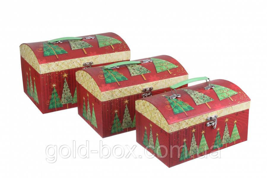 Новогодние коробки подарочные 3 в 1