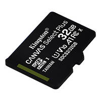 Карта памяти Kingston Canvas Select Plus microSD 32Gb Class 10 А1 UHS-1