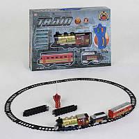 Железная дорога на р/у 39 30 элементов, свет, звук, длина путей 420см
