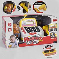 Кассовый аппарат 35532 В свет, звук, микрофон, сканер, корзинка с продуктами