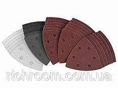 Набір трикутної шліфувального наждачного паперу Parkside PDSZ 30 A1, 30 шт