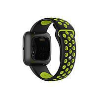 Ремінець для годинника Nike design bracelet Універсальний, 20 мм, Black with green, фото 4