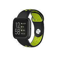 Ремінець для годинника Nike design bracelet Універсальний, 20 мм, Black with green, фото 5