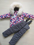 Зимние костюмы на мальчика куртка и полукомбинезон, фото 10