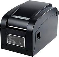 Принтер этикеток, термопринтер штрих кодов Xprinter XP - 350B