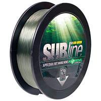 Леска KORDA SUBline - 1000 m spoel 0.40mm 1000m 15lb Зеленый