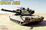 Модель танка для сборки M1A1 AIM ABRAMS 1/35