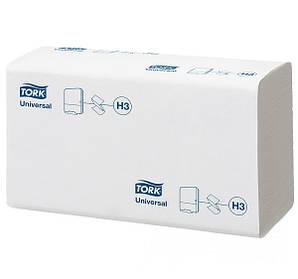 Полотенца бумажные сложение ZZ 200 шт,1 слой Tork Universal