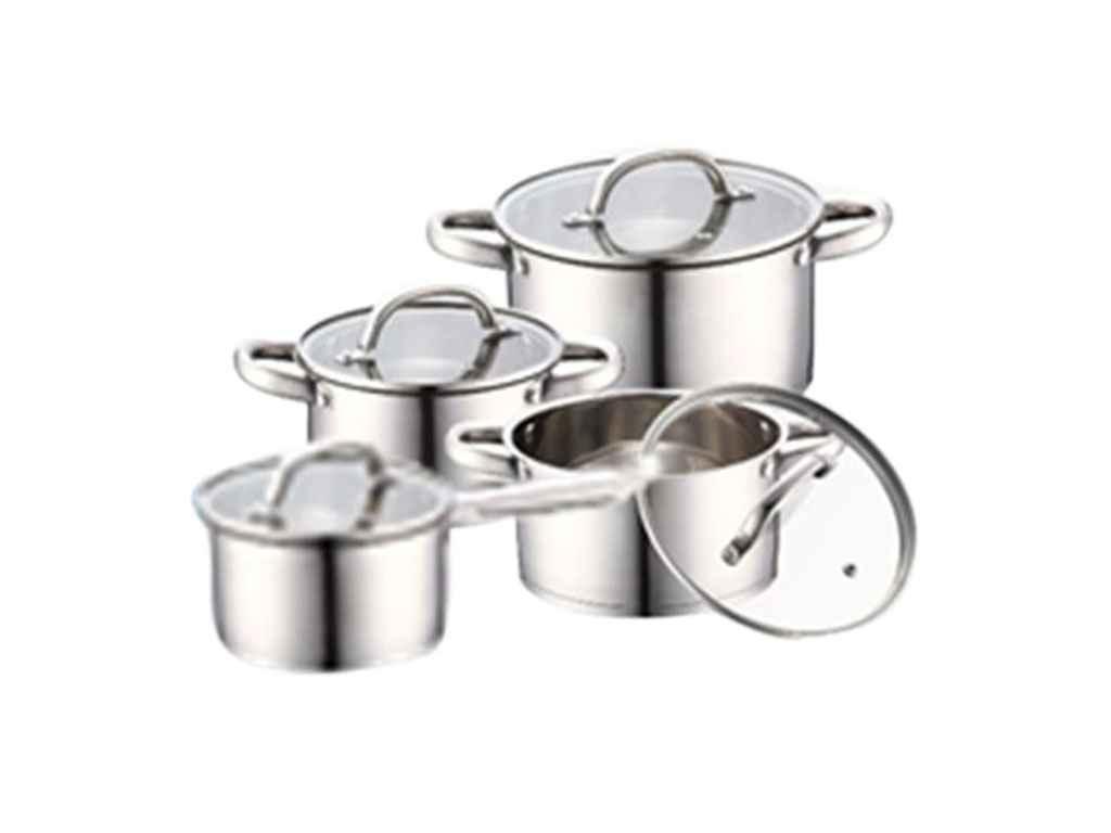 """Набор нержавеющей посуды 8 предметов 26-242-044 """"Krauff"""""""