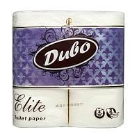 Бумага туалетная 3 слоя, 4 рулона/уп белая ДИВО ЭЛИТ