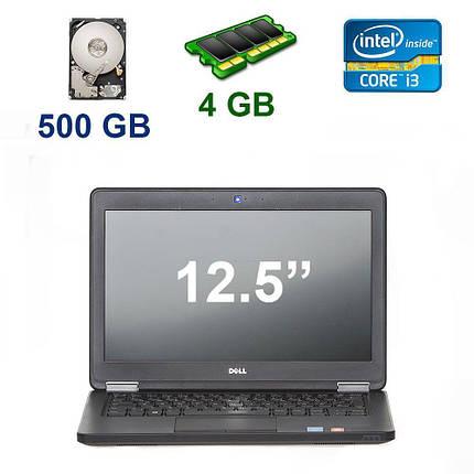 "Dell Latitude E5250 / 12.5"" (1366x768) / Intel Core i3-5010U (2 (4) ядра по 2.10 GHz) / 4 GB DDR3 / 500 GB HDD / Webcam, фото 2"