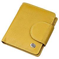 Небольшое портмоне для женщин ST Leather 18924 Горчичный, фото 1
