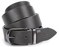 Ремень мужской GRANDE PELLE 00870 кожаный Черный, фото 1