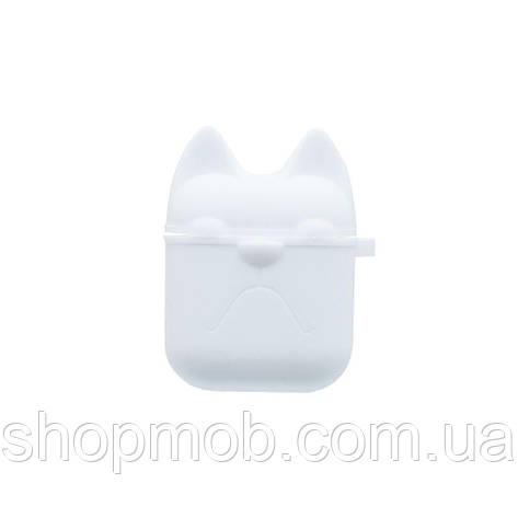 Футляр для наушников Airpod Dog Цвет Белый, фото 2