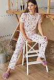 Пижама женская с брюками Джойс, фото 2