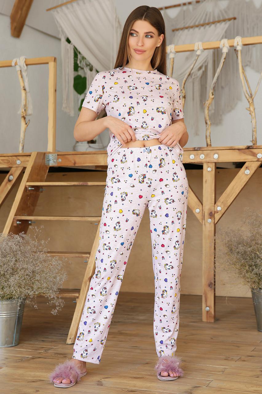 Пижама женская с брюками Джойс