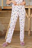 Пижама женская с брюками Джойс, фото 3