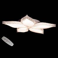 LED-люстра для зала с диммером и пультом цвет белый 70W Diasha&MX2346/5WH dimmer