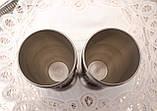 Два высоких оловянных бокала, кубка, пищевое олово, Германия, 250 мл, фото 8