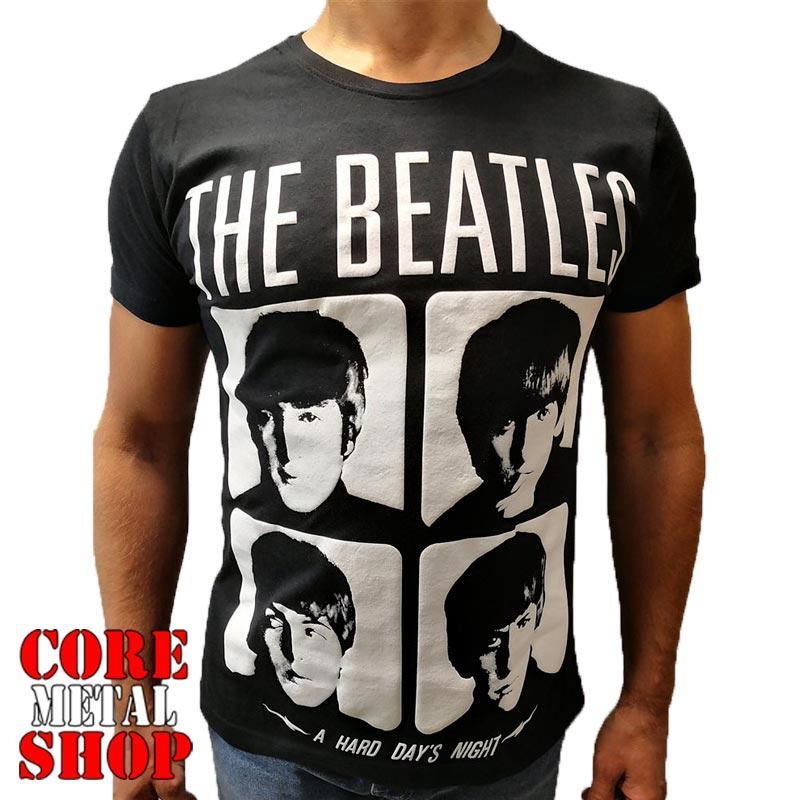 Футболка The Beatles - A Hard Day's Night