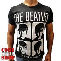 Футболка The Beatles - A Hard Day's Night, фото 1
