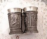 Два коллекционных оловянных бокала, пищевое олово, Шедевры живописи, 250 мл, фото 6