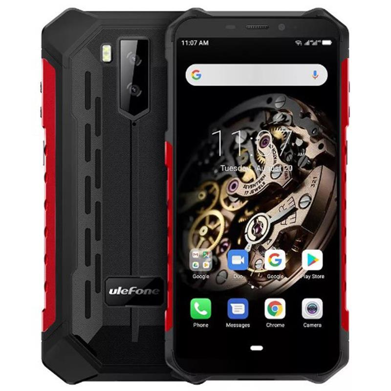 Ulefone Armor X5 Dual Sim Black/Red (6937748733256)