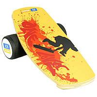 Балансборд Ex-board Pro Skate черный валик 16 см литой (EX90)