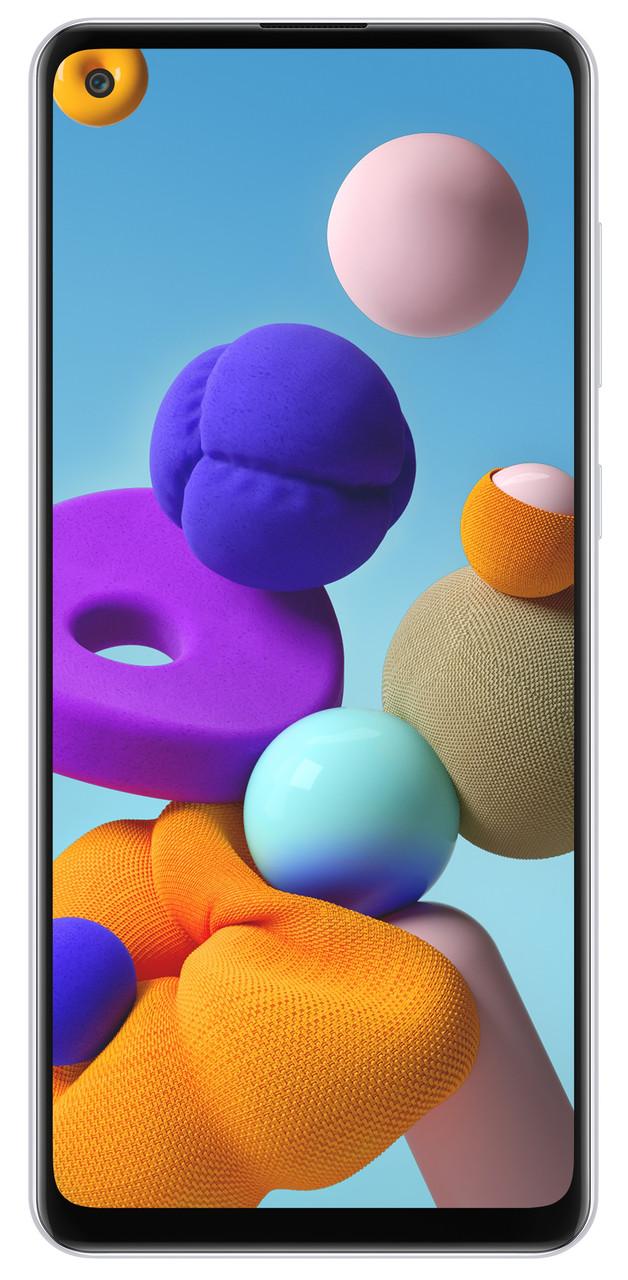 Смартфон Samsung Galaxy A21s 3/32 White (6572287)