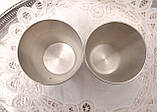 Два коллекционных оловянных бокала, пищевое олово, Германия, 350 мл, фото 6