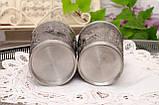 Два коллекционных оловянных бокала, пищевое олово, Германия, 350 мл, фото 7