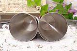 Два коллекционных оловянных бокала, пищевое олово, Германия, 350 мл, фото 5