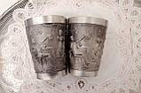 Два коллекционных оловянных бокала, пищевое олово, Германия, 350 мл, фото 4