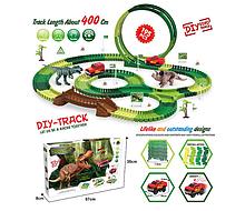 Игровой автотрек Динозавры GD 12 A, трасса 400 см