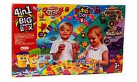 Набор для лепки Danko Toys 4 в 1 BIG CREATIVE BOX