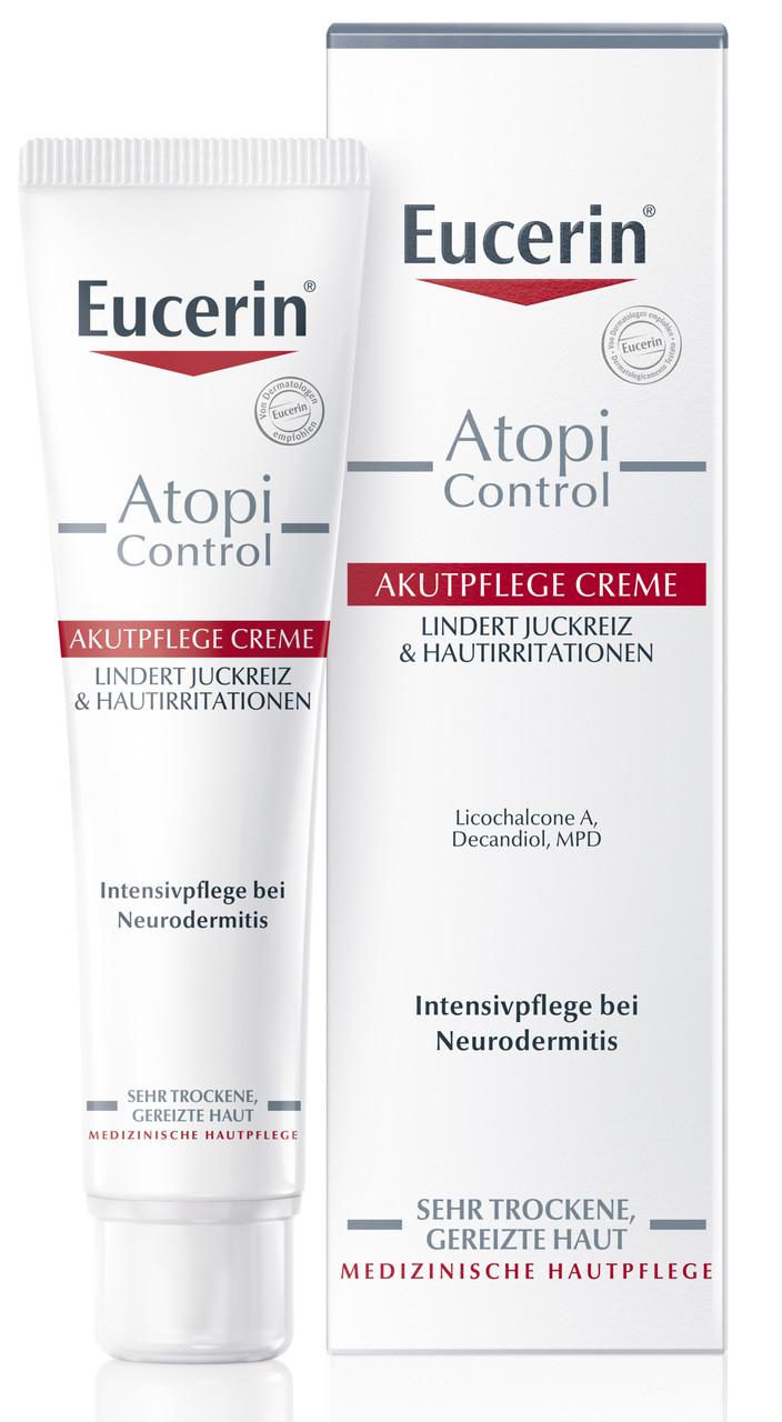 Крем Eucerin AtopiControl успокаивающий для атопической кожи 40 мл