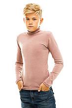 Гольф детский на флисе 026 бежевый