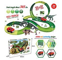 Игровой автотрек Динозавры GD 08 A, трасса 305 см