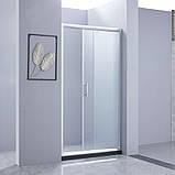 Душевая дверь в нишу Lidz Zycie SD100x185.CRM.FR Frost, фото 2