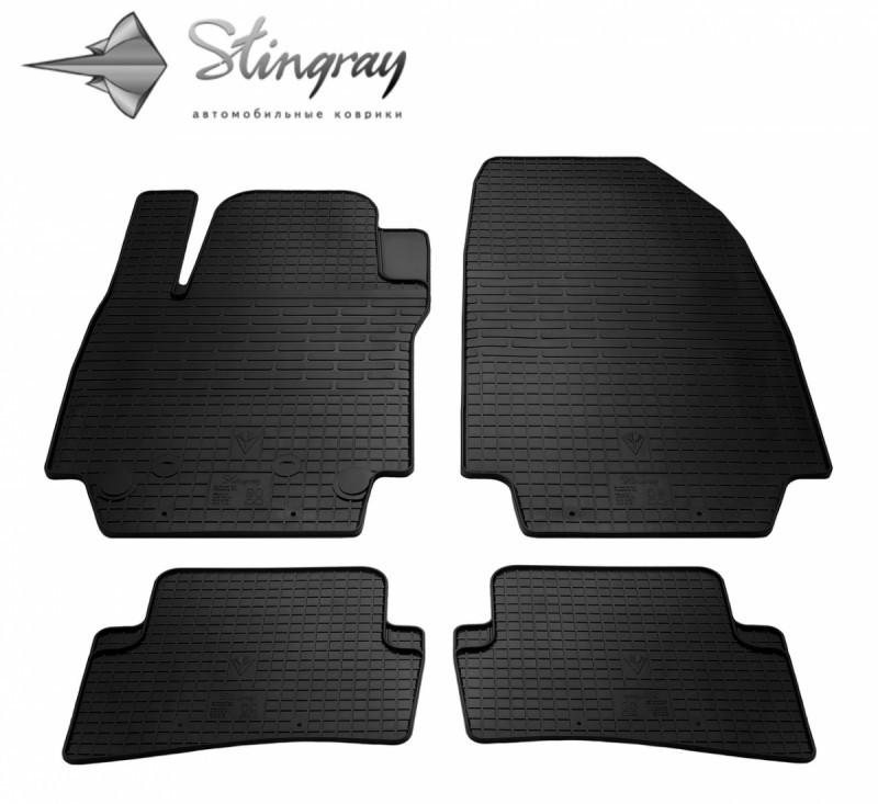 Резиновые коврики в автомобиль Renault Clio III 2005- (Stingray)