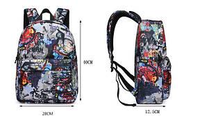 Стильні тканинні рюкзаки з принтом ігри, фото 3