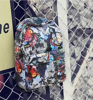 Стильні тканинні рюкзаки з принтом ігри, фото 2