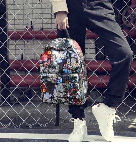 Стильные тканевые рюкзаки с принтом игры