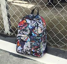 Стильные тканевые рюкзаки с принтом игры, фото 2