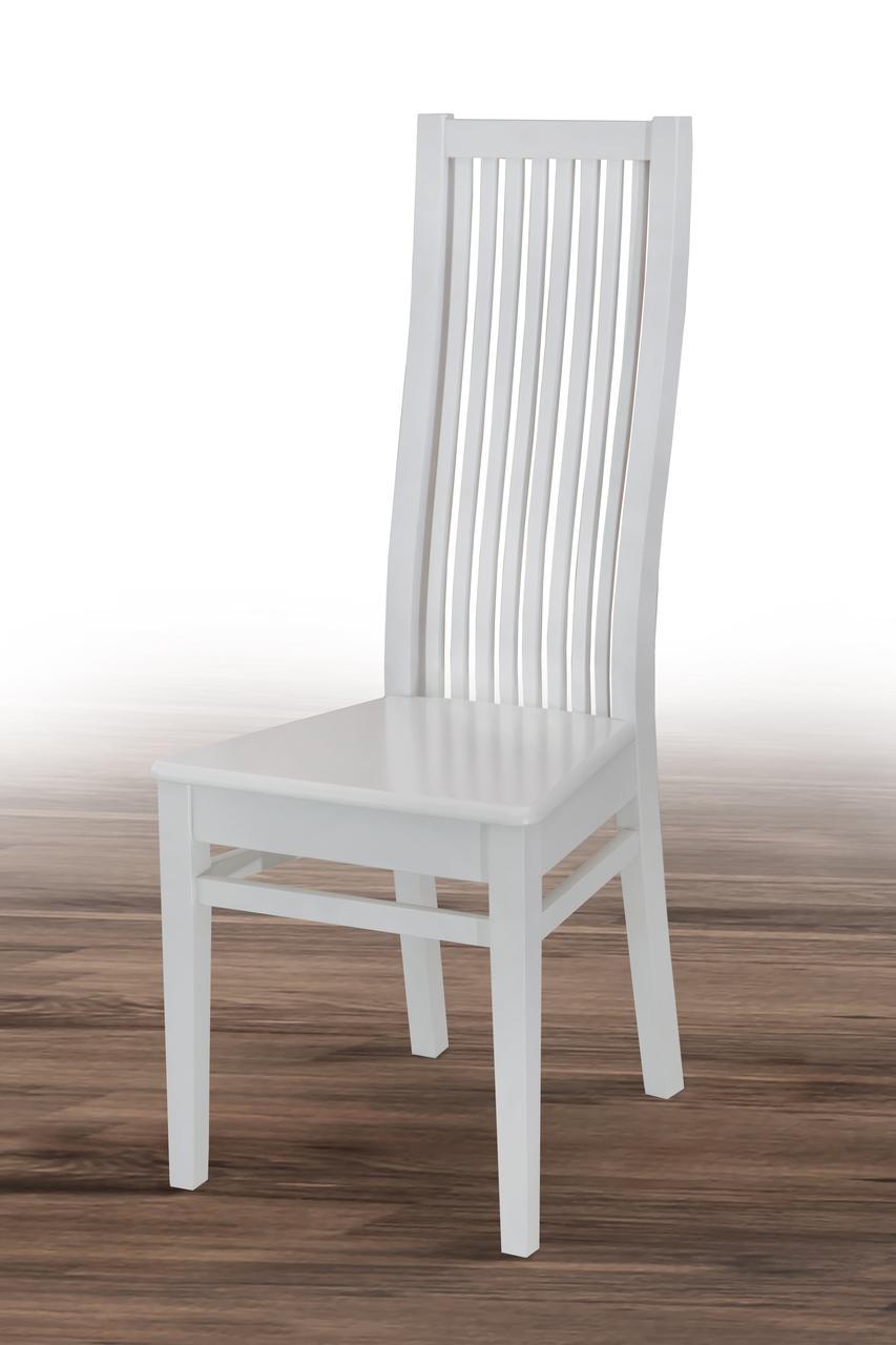 Стул обеденный деревянный Парма (белый)
