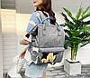 Каркасный трансформер сумка-рюкзак с принтом Микки Маус, фото 5