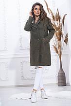 Пальто кашемірове двобортне на підкладці,застібається на гудзики. різні кольори, Р-н. 46,48,50,52 Код 974В