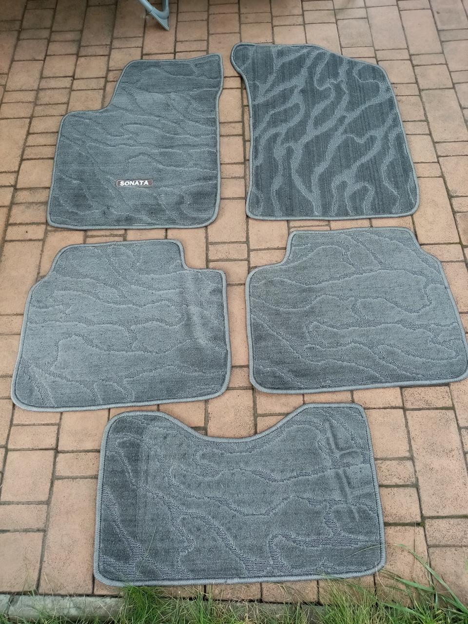 Комплект войлочных ковриков салона HYUNDAI SONATA   РАСПРОДАЖА